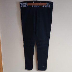 PINK -Victoria Secret - Black Yoga Leggings